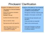 pinckaers clarification