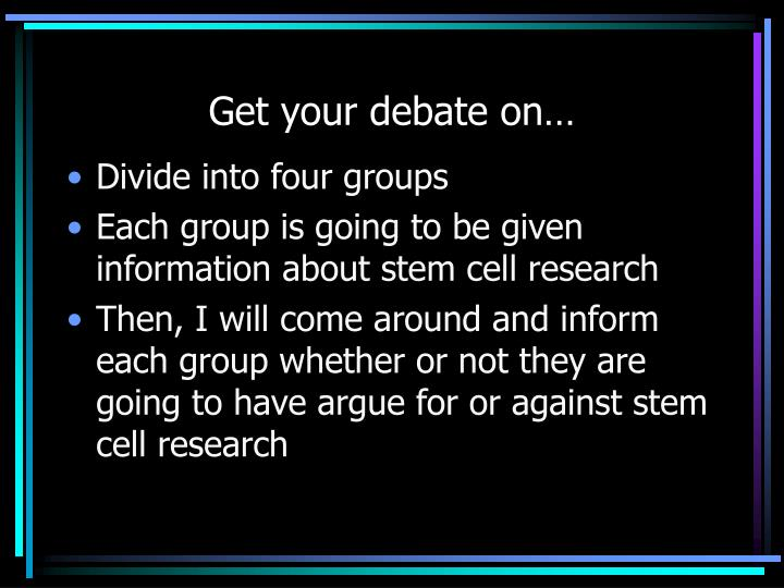 against embryonic stem cell research paper Stem cell research paper writing tips for stem cell research papers list of stem cell research papers topics.