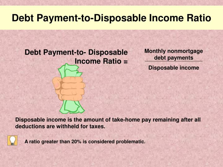 Debt Payment-to-Disposable Income Ratio
