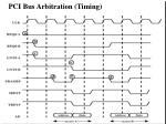 pci bus arbitration timing