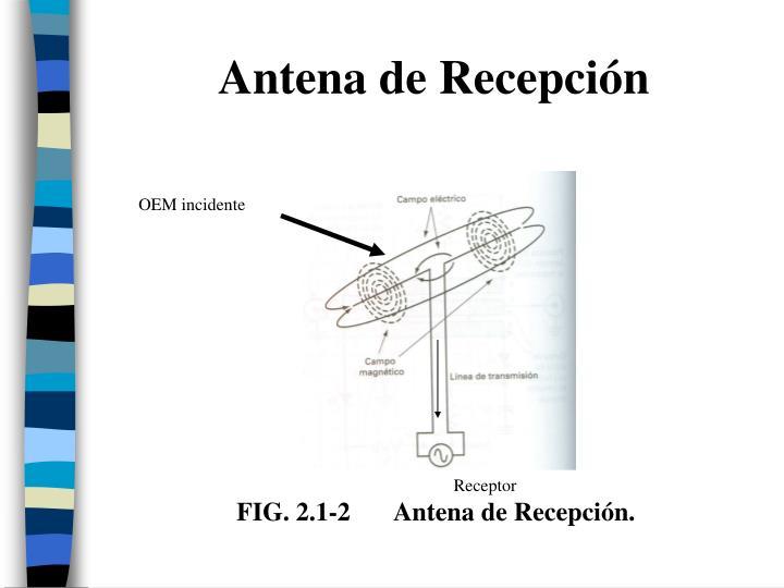 Antena de Recepción