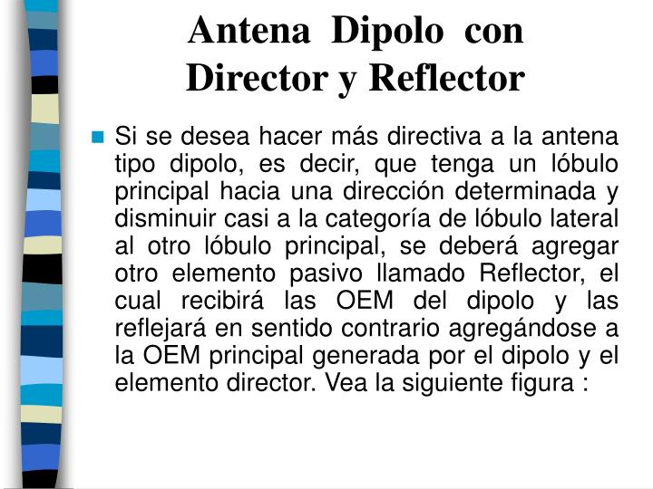 Antena  Dipolo  con