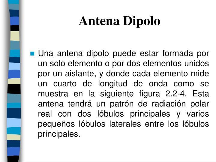 Antena Dipolo