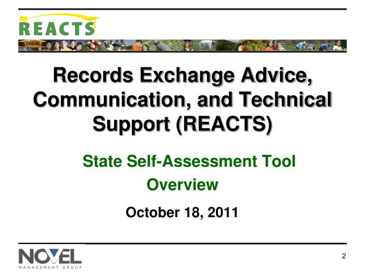 Records exchange advice communication and technical support reacts