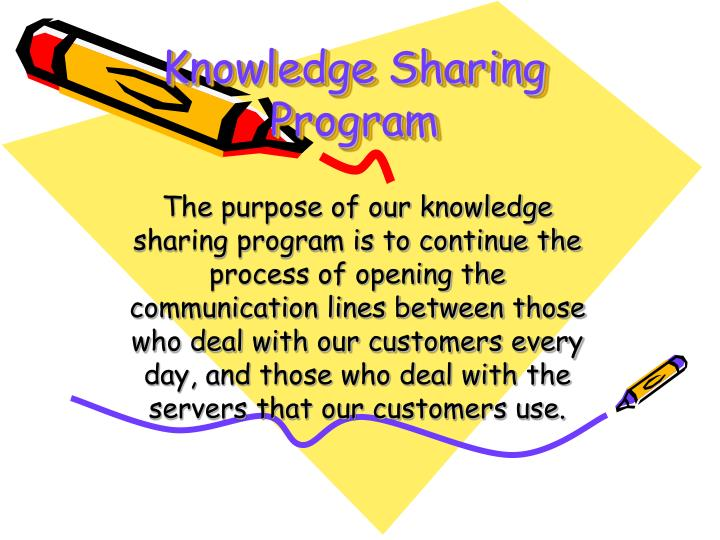 Knowledge Sharing Program