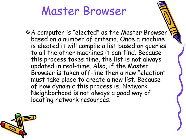 Master Browser