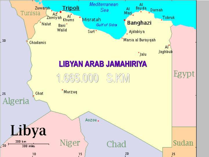 LIBYAN ARAB JAMAHIRIYA