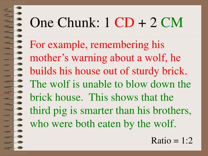 One Chunk: 1