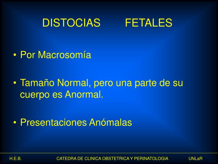 Por Macrosomía