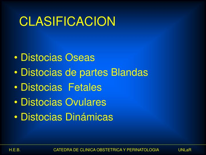 Distocias Oseas