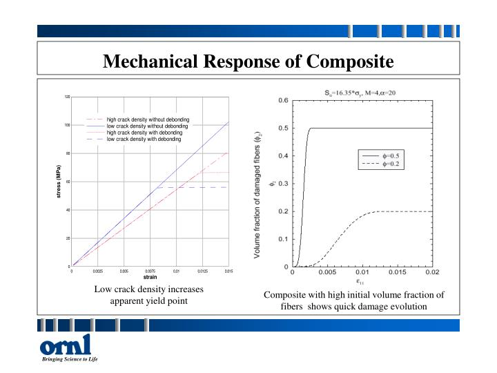 Mechanical Response of Composite