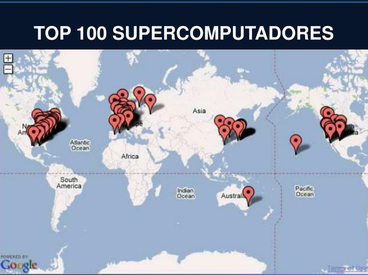 TOP 100 SUPERCOMPUTADORES