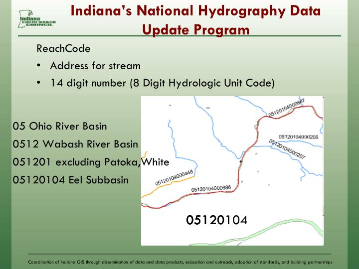 Indiana s national hydrography data update program1