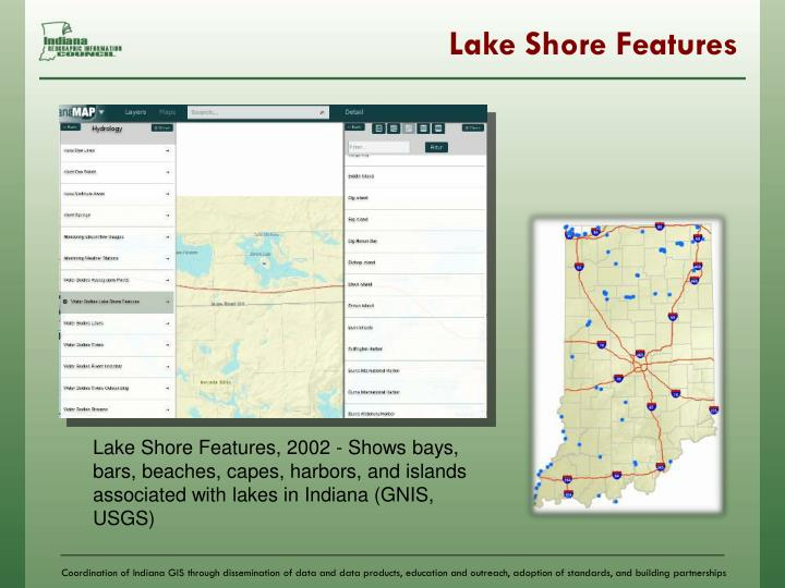 Lake Shore Features