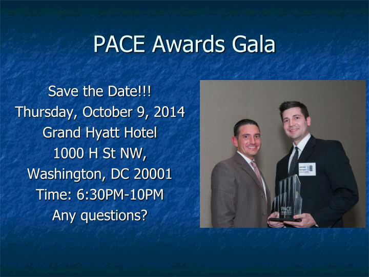 PACE Awards Gala