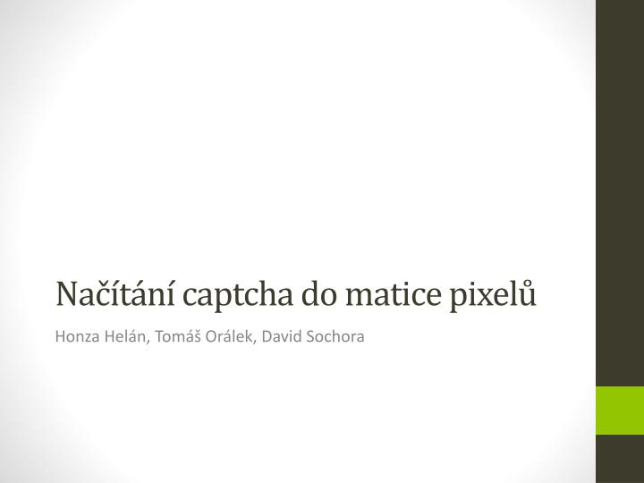 na t n captcha do matice pixel