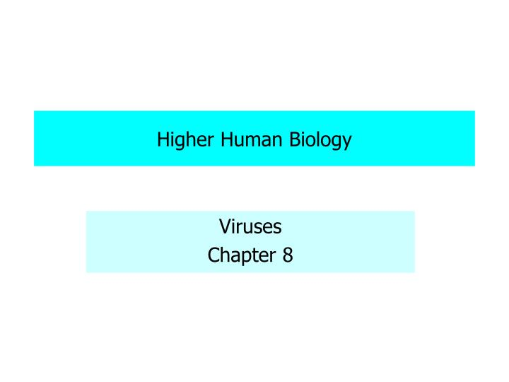 higher biology essay Human biology essays home pay for essays essay submission faqs contact the uk's quality essay database welcome sign in or register home  degree level essays.