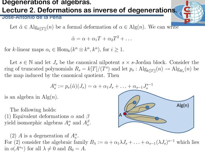 Degenerations