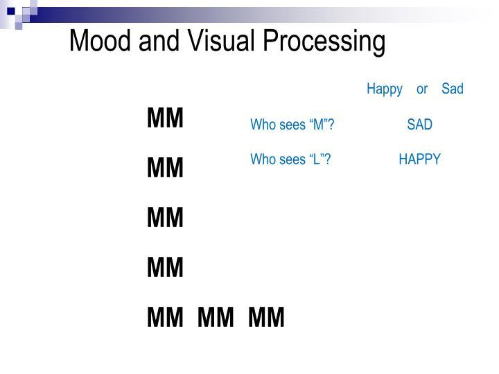 Mood and Visual Processing