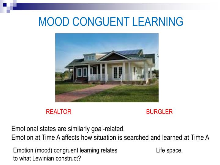 MOOD CONGUENT LEARNING