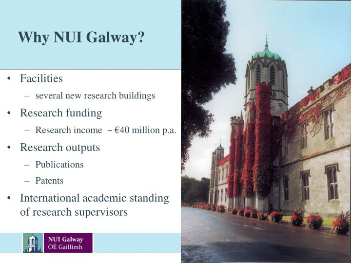 Why NUI Galway?