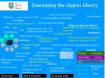 sustaining the digital library