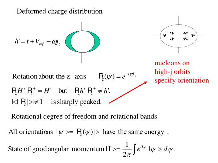 nucleons on