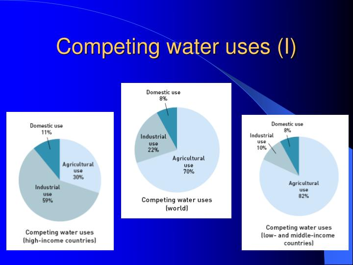 Competing water uses (I)