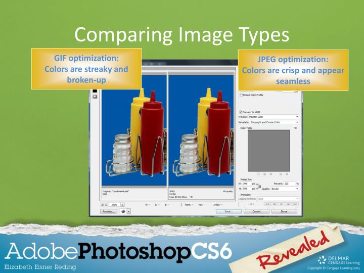 Comparing Image Types