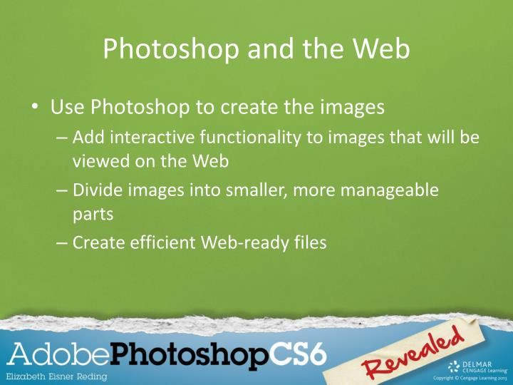 Photoshop and the Web