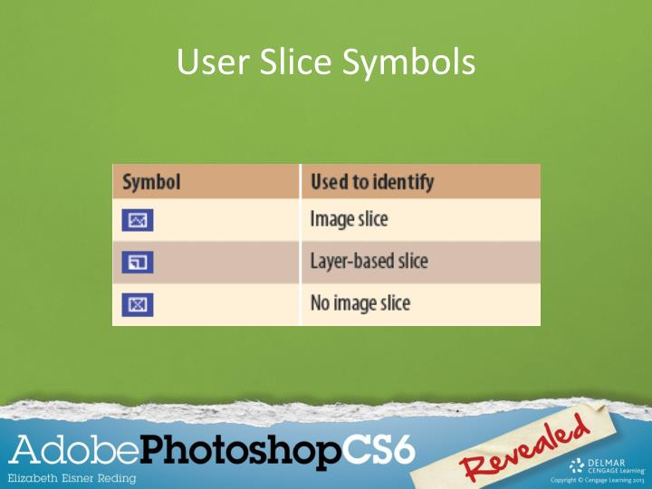 User Slice Symbols