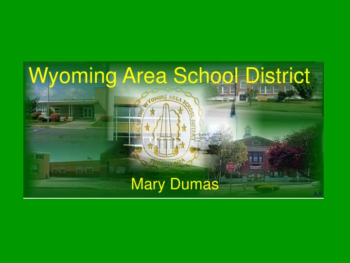 Wyoming area school district