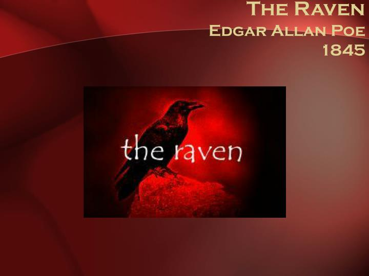 The raven edgar allan poe 1845