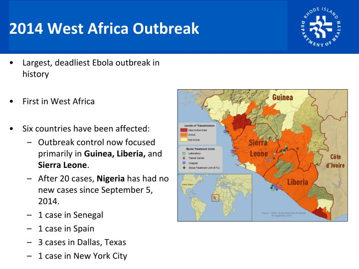 2014 West Africa Outbreak