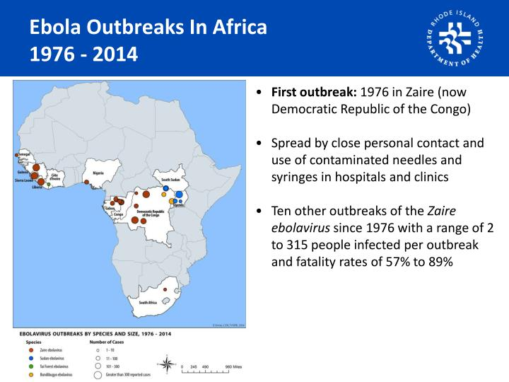 Ebola Outbreaks In Africa