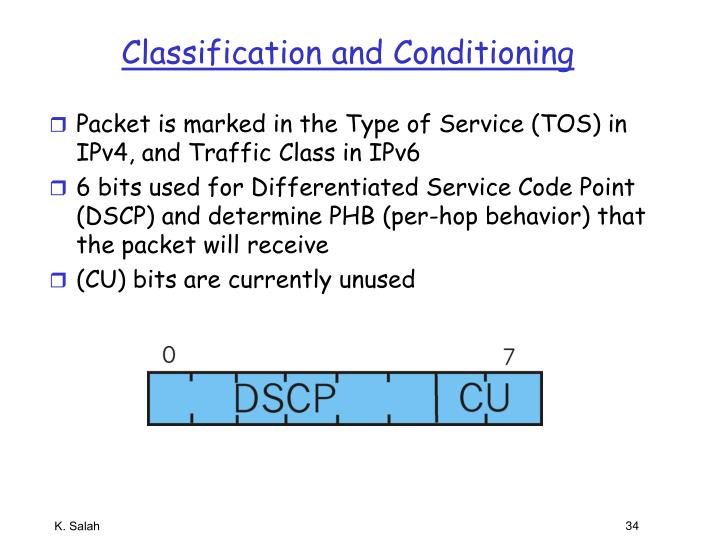 Classification and Conditioning