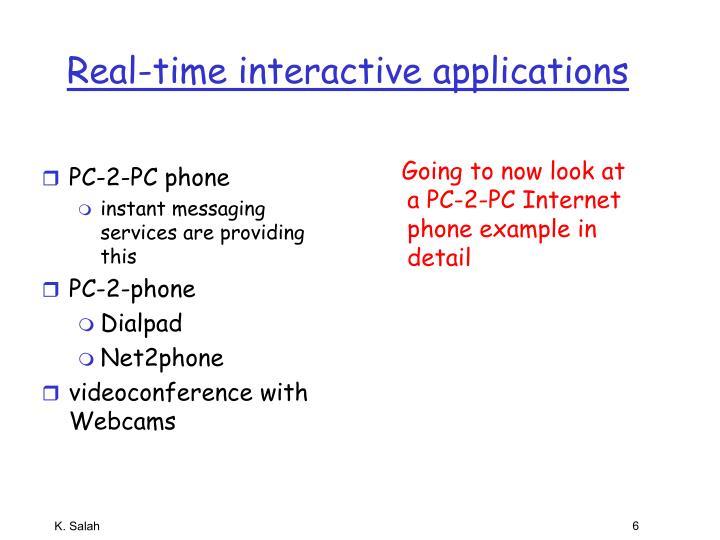 PC-2-PC phone