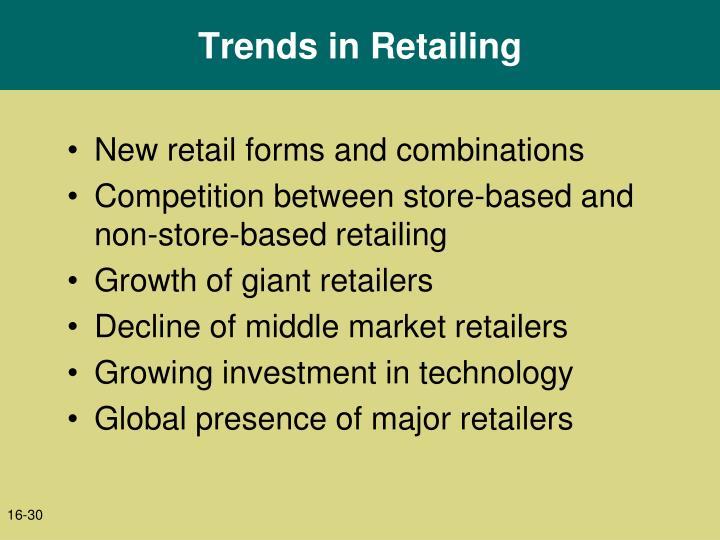 Trends in Retailing