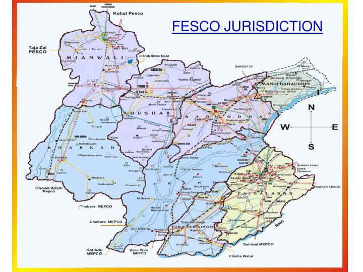 FESCO JURISDICTION