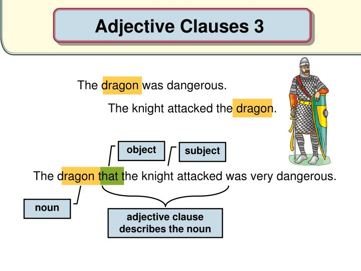 Adjective Clauses 3
