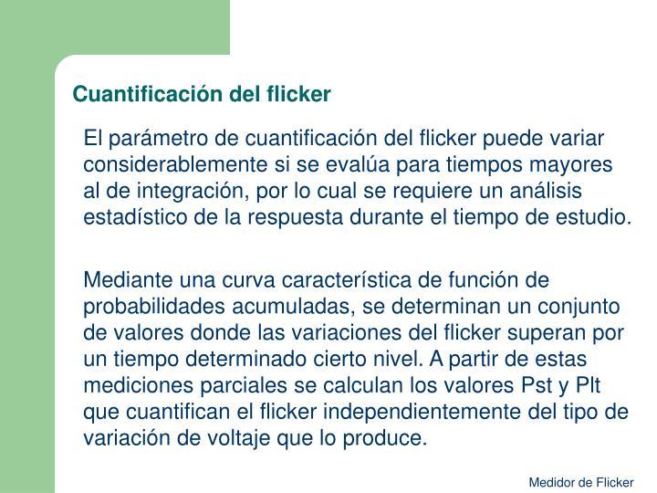 Cuantificación del flicker