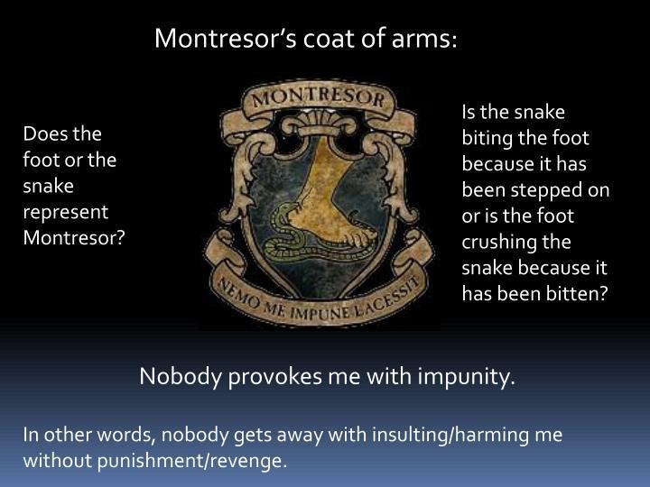 Montresors coat of arms: