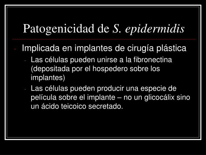 Patogenicidad de