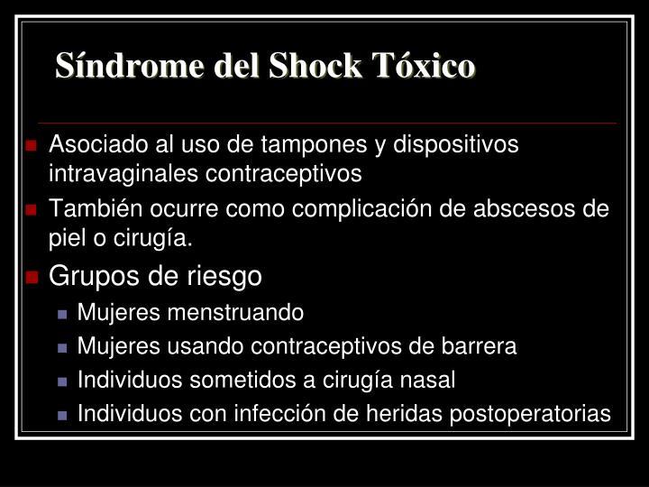 Síndrome del Shock Tóxico