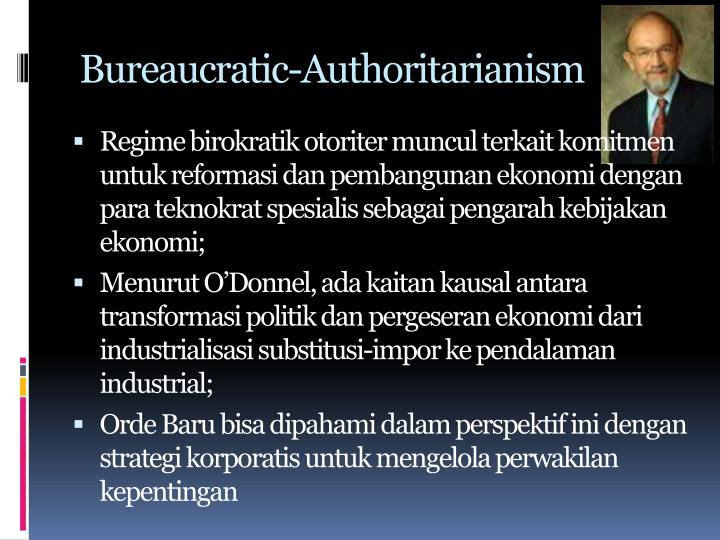 Bureaucratic-Authoritarianism