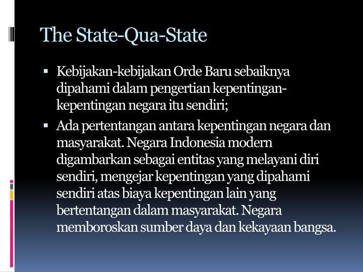 The State-Qua-State