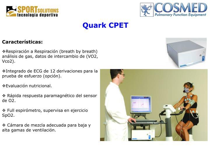 Quark CPET