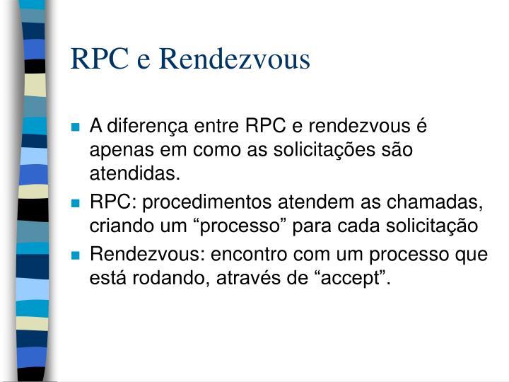 RPC e Rendezvous
