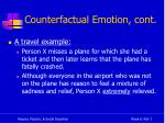 counterfactual emotion cont