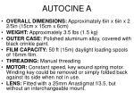 autocine a1